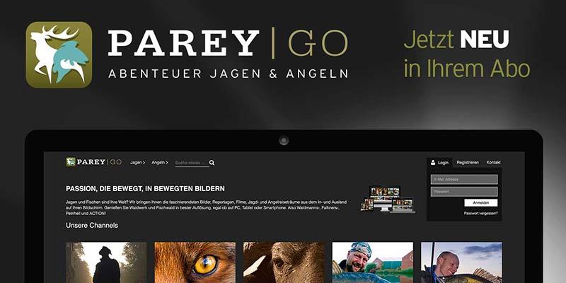 Parey Verlag startet PareyGo!